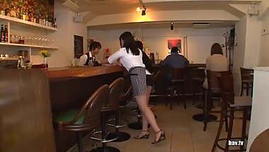 TGAV-056 Nomiya Satomi The Waitress Has To Seduce Me Erotic