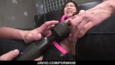 Miina Kanno screams and shakes tits while getting fucke - More at javhd net