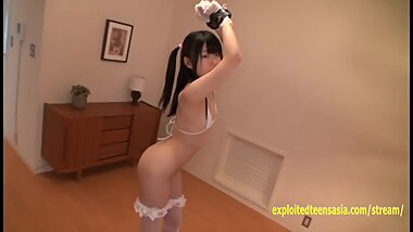 Petite Jav Teen Teases With Her Legs Spread Wide And Handcuf