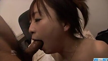 Sexy wife,  Nozomi Hazuki, craves for a nasty pussy play